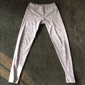 XS Grey out from under leggings